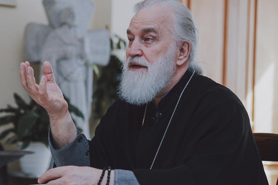 Мітрапаліт Павел: Добрая думка пра чалавека — ужо праява любові
