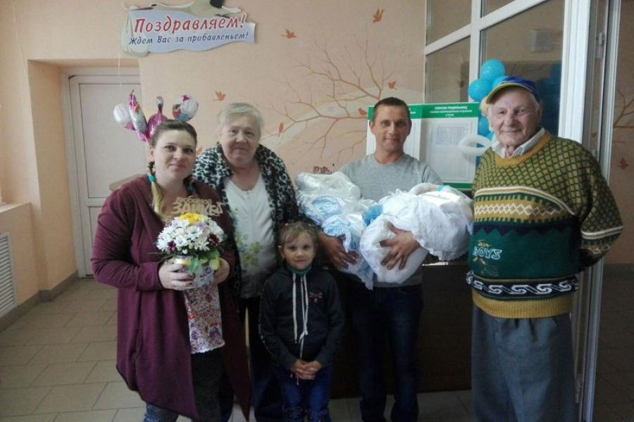 Што спрыяе росту колькасці шматдзетных сем'яў у Слаўгарадскiм раёне