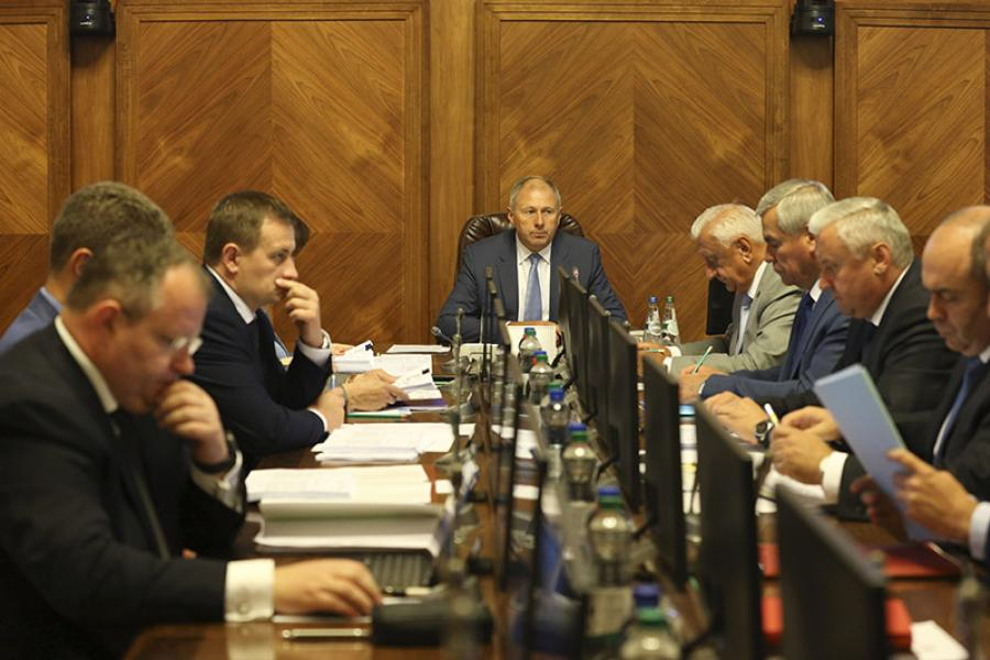 Рассмотрен комплексный план развития отстающих регионов Беларуси