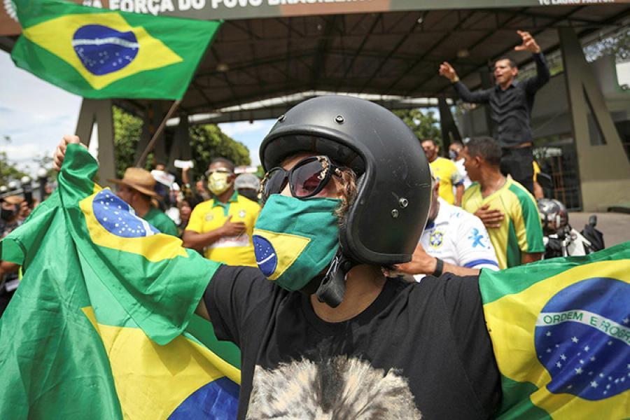 Пасля карнавалу. Што адбываецца ў Бразіліі?