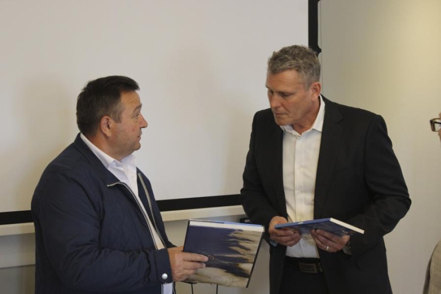 Впервые встретились руководители природоохранных ведомств Беларуси и Швеции