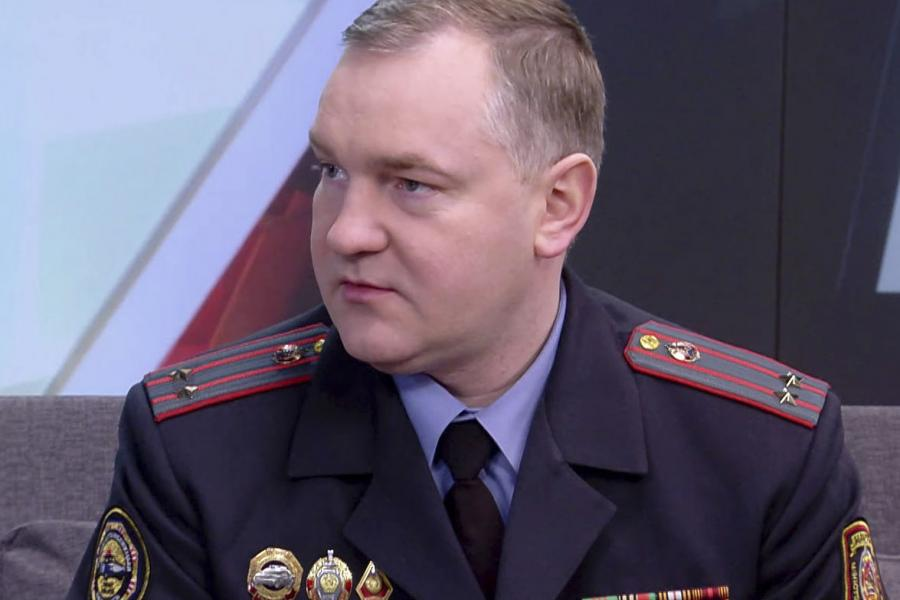 Станислав Соловей, старший инспектор по особым поручениям УГАИ Министерства внутренних дел