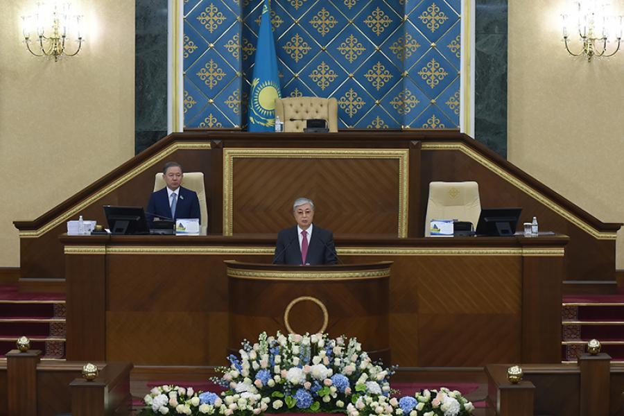Состоялось первое послание Президента Казахстана народу