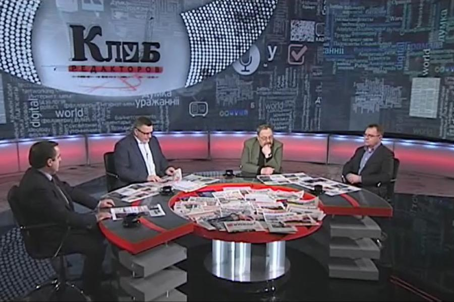 У эфір «Беларусь 1» вяртаецца праект «Клуб рэдактараў»