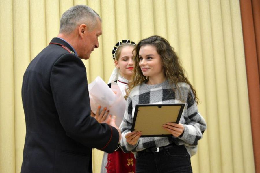 Корреспондент «Звязды» удостоена грамоты МВД