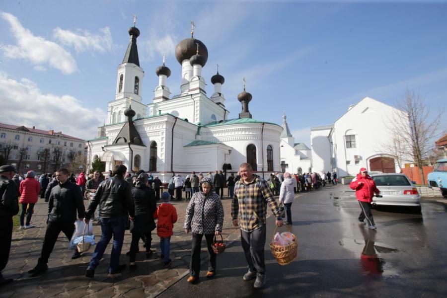 Велікодная субота ў Магілёве