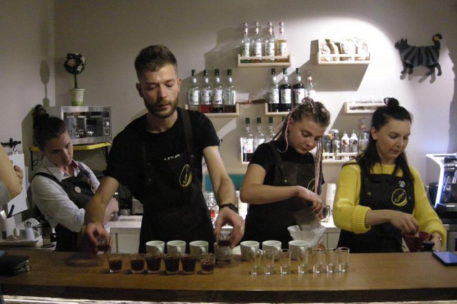 Вялікі свет у філіжанцы кавы