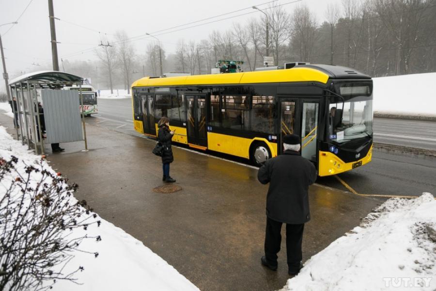 Транспарт Мінска папоўніцца 328 аўтобусамі і 60 электробусамі