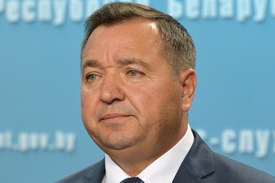 Андрэй Худык, міністр прыродных рэсурсаў і аховы навакольнага асяроддзя