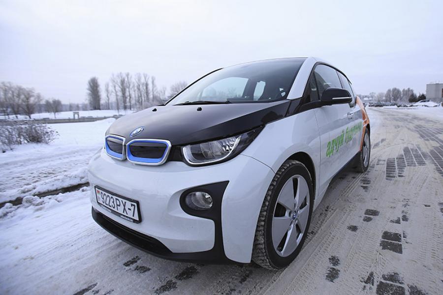 Тэст-драйв BMW і3 — самага незвычайнага электракара сучаснасці