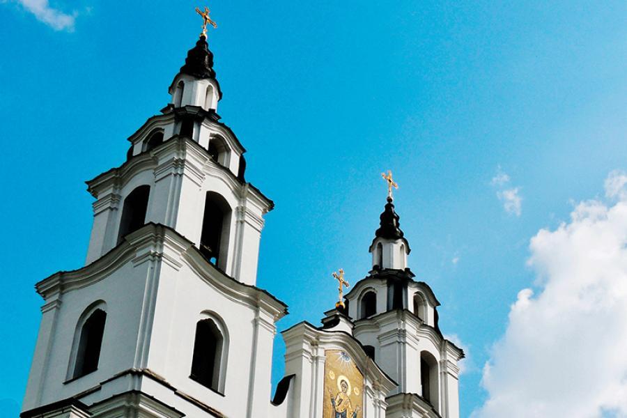 У Мінску - мошчы святых вялікай княгіні Елісаветы і інакіні Варвары