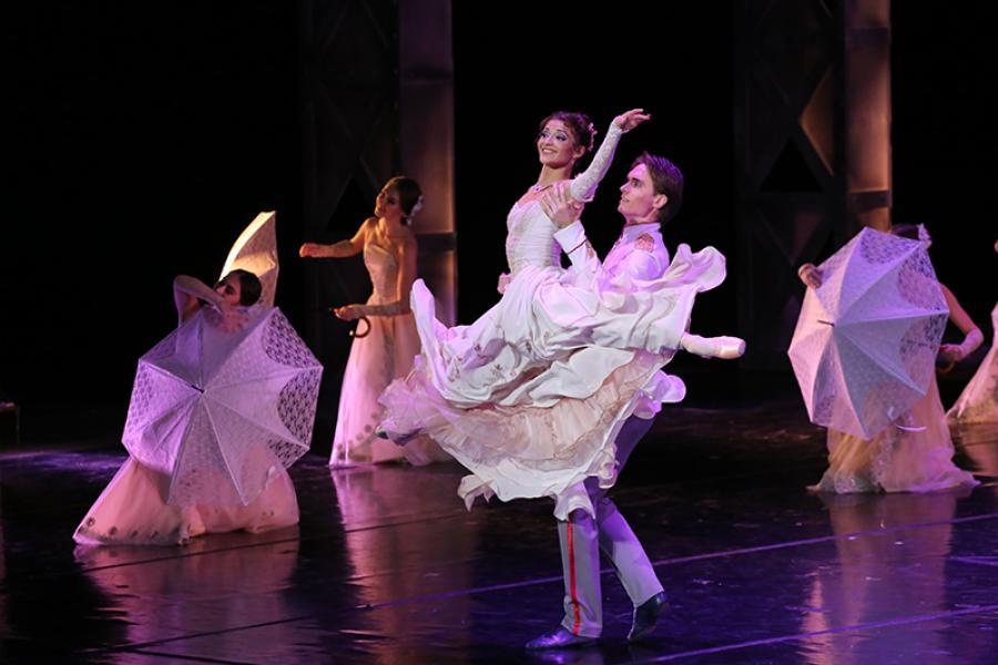 У Вялікім тэатры вялікая балетная прэм'ера — «Ганна Карэніна»