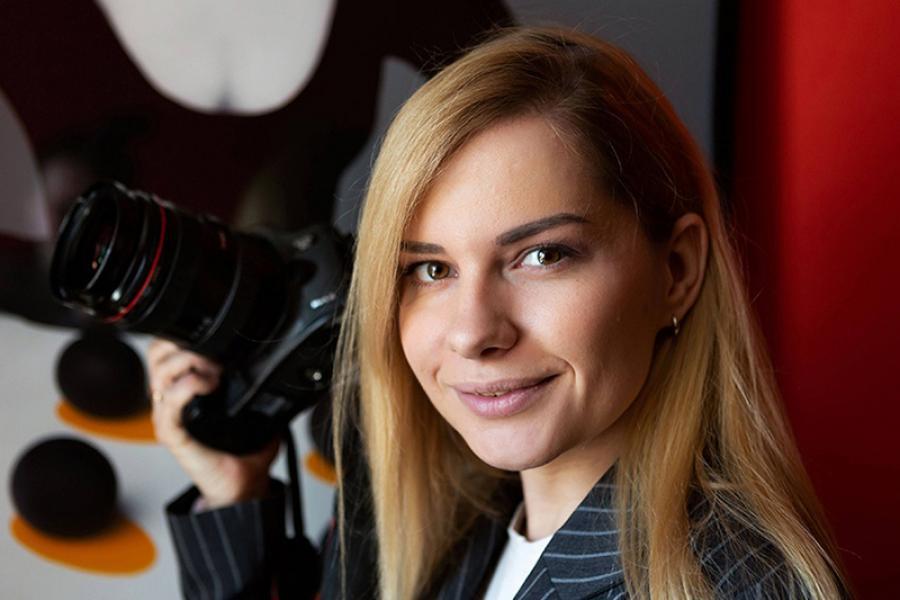 Дар'я Матросава: Шчаслiвая штодзень займацца фатаграфiяй