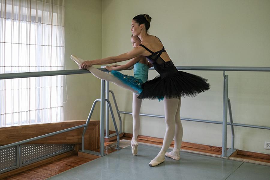 Азбука профессий: балерина Татьяна Уласень о карьере и семье