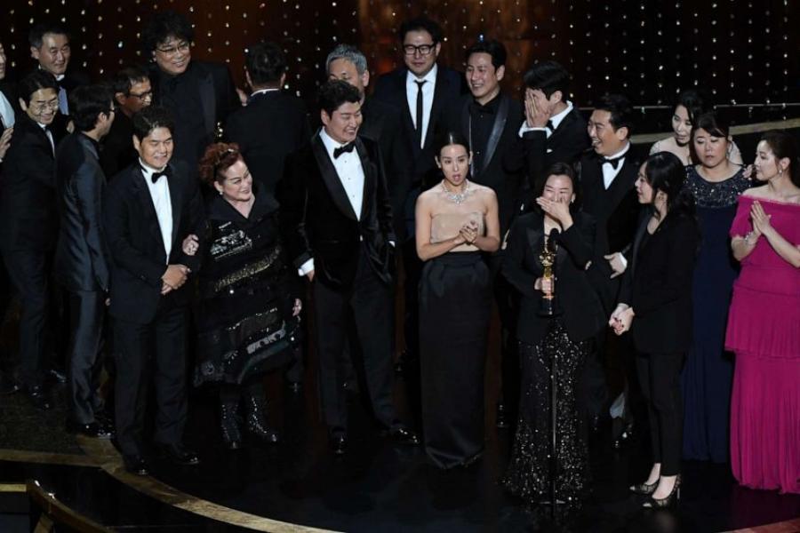 УЛос-Анджэлесе раздалі «Оскары». Лепшым замежным фільмам названы «Паразіты»