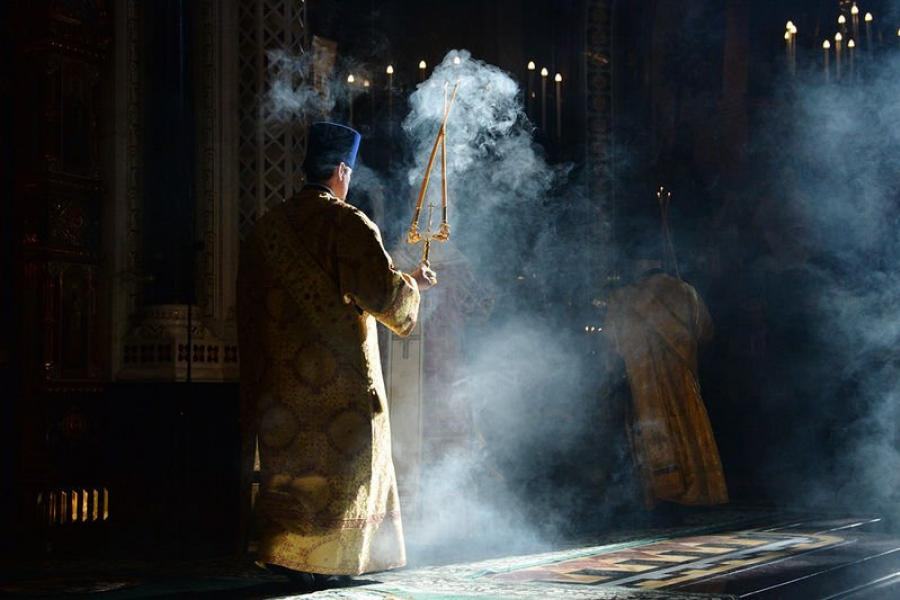 Прайшло асвячэнне дамавога храма Барысаўскага епархіяльнага ўпраўлення ў гонар свяціцеля Савы