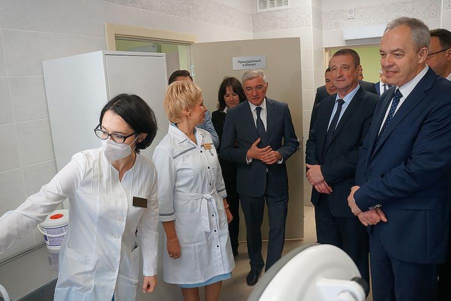 В Могилеве открыли «умную» интегрированную поликлинику