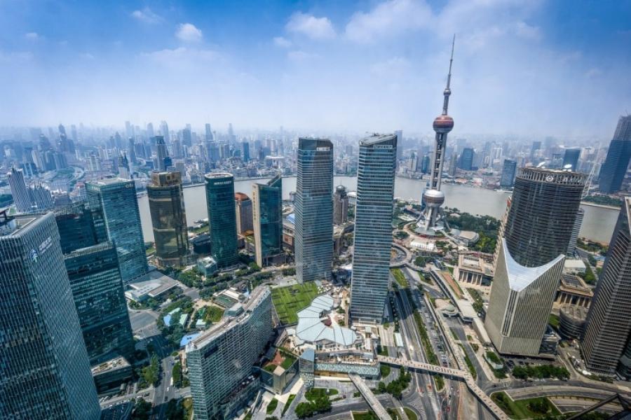 Шанхай у лідарах