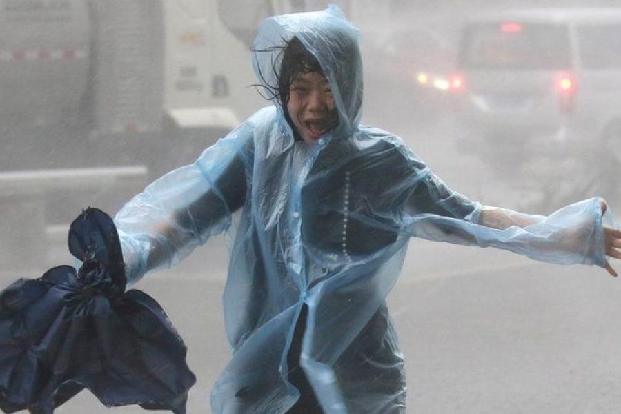 Как спастись от тайфуна?