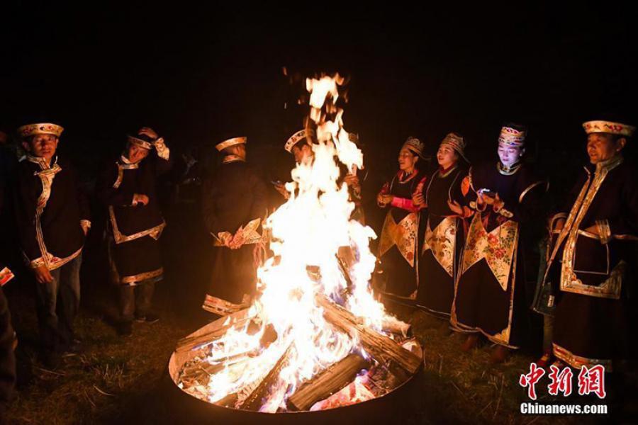Тыбетцы сустрэлі Новы год