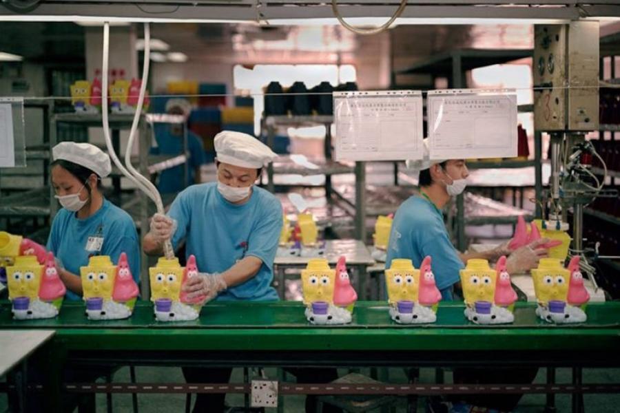 В Китае значительно вырос объем торговли игрушками