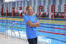 Трэнер па плаванні Вольга Ясяновіч: Яны самі не ўяўляюць, як хутка могуць плаваць