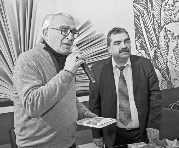 сугучча - Чынгіз Аліаглу і Алесь Бадак - фота Кастуся Дробава