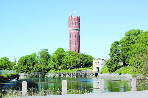 Водонапорная башня в Кальмаре