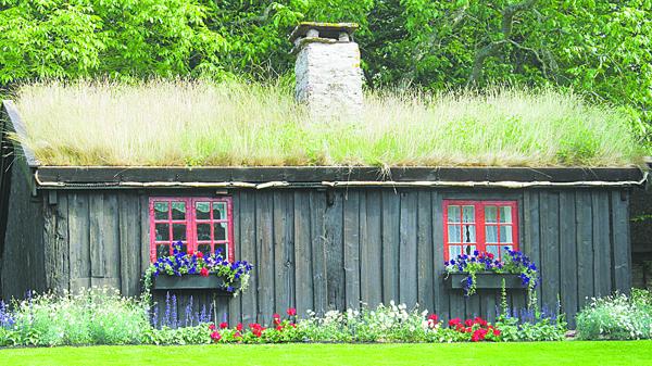 Домик служанки в летней резиденции шведского монарха