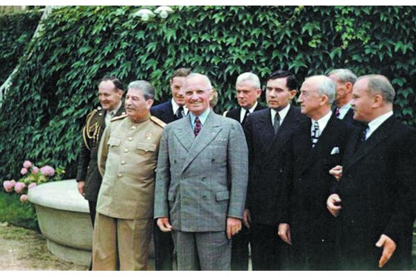 Патсдамская канферэнцыя, ліпень 1945.