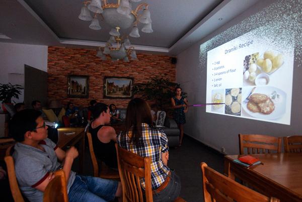 Наташа расказвае пра дранікі ў кітайскім горадзе Яншо